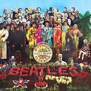 Sgt. Pepper's Lonely Hearts Club Band のジャケット画像